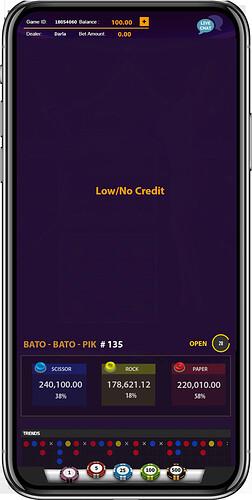 New Color Games App - Below Minimum