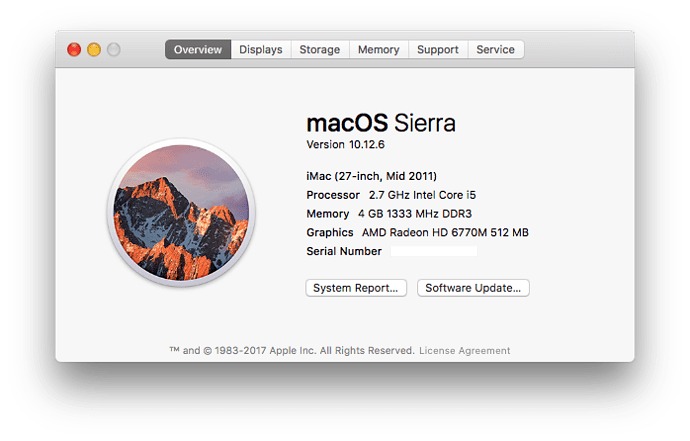 2011 iMac
