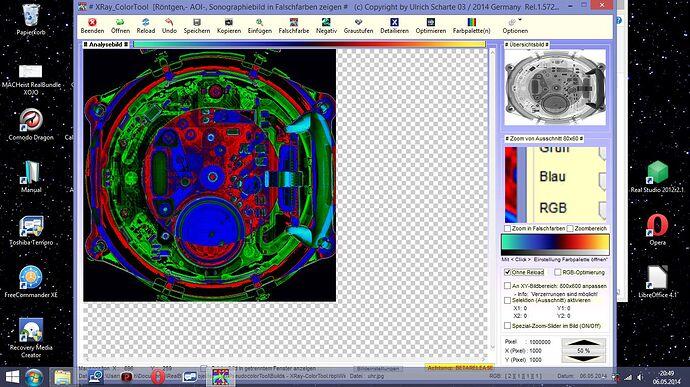uhr-Pseudocolor-Optimiert